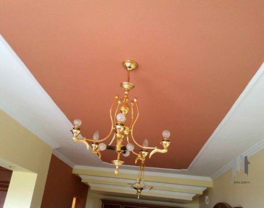 Ελαιοχρωματισμός οροφής